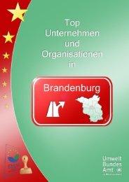 Top EMAS Unternehmen in Brandenburg