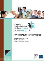 Plaquette de sensibilisation à l'égalité professionnelle - Agefos PME