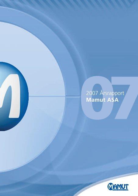 Årsrapport 2007 - Mamut