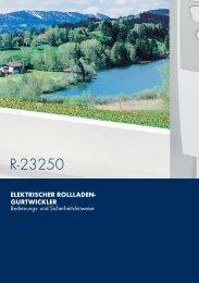 ELEKTRISCHER ROLLLADEN- GURTWICKLER - Lott GmbH