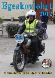 Egeskov program 2012.indd - Danmarks Veteran Motorcykleklub