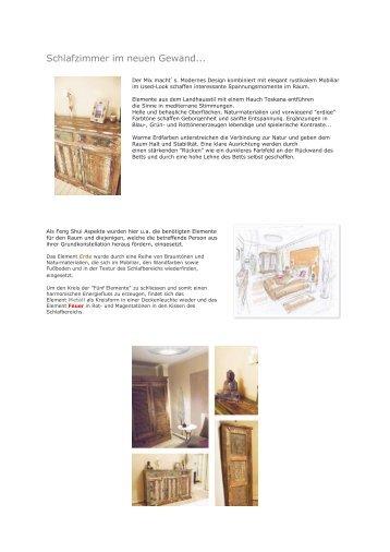 Schlafzimmer im neuen Gewand... - Feng Shui News