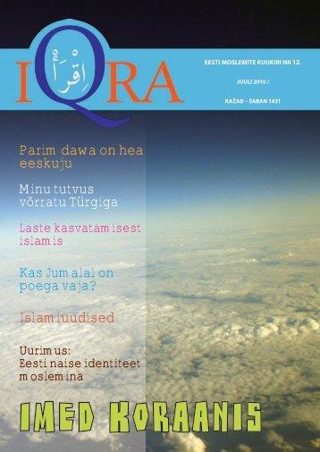 Iqra kuukiri nr.12 - Islam