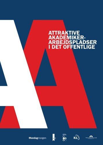attraktive akademiker- arbejdspladser i det offentlige