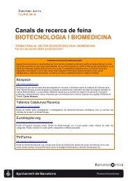 Recursos per a la Recerca de Feina al Sector de ... - Barcelona Treball