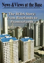 From Baselands to Promiselands - Philippines Bases Conversion ...