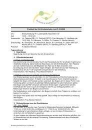 Protokoll der AG Kinderschutz vom 23.10.2009 - Landkreis Teltow ...