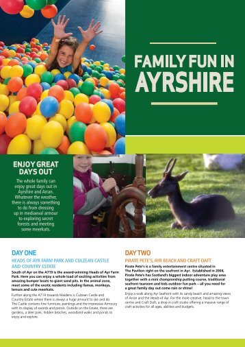 ENJOY GREAT DAYS OUT - Stagecoach