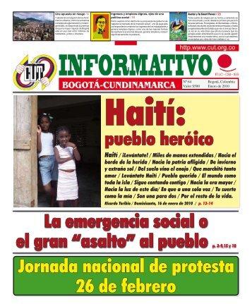 Jornada nacional de protesta 26 de febrero pueblo ... - sintraestatales