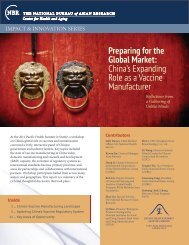 Preparing for the Global Market: China's Expanding Role as a ...
