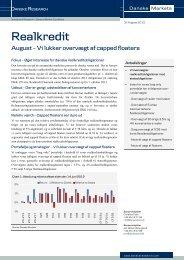 Danske Research - Danske Analyse - Danske Bank