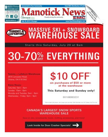 WAREHOUSE SALE - Performance Printing