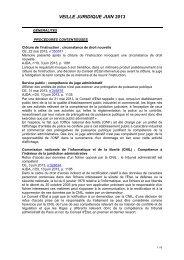 VEILLE JURIDIQUE JUIN 2013 - Agriculture