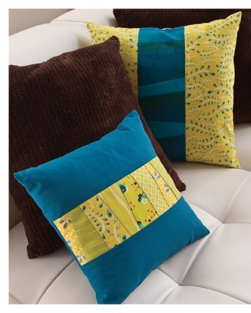 exclusive PDF pattern for the Stripe of Strips Pillow - Sew Mama Sew