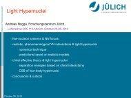 Status of Hypernuclei - CRC 110