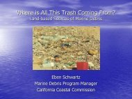 Where is All This Trash Coming From? - California Coastal ...
