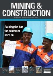 Raising the bar for customer service - Atlas Copco