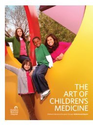 THE ART OF CHILDREN'S MEDICINE - Ann & Robert H. Lurie ...