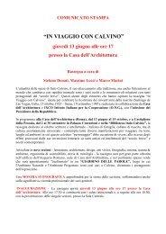 Download comunicato stampa - Prospettive Edizioni