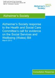 SSW 78 Alzheimer's Society PDF 125 KB - Senedd.assemblywales ...