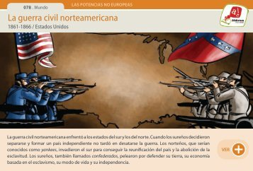 La guerra civil norteamericana - Manosanta