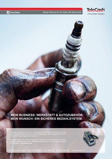 MEIN BUSINESS: WERKSTATT & AUTOZUBEHÖR. MEIN WUNSCH