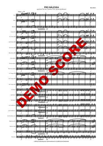 Pro Nalevka Ha - Musikverlag Frank