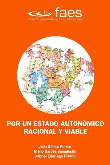 Por un Estado Autonómico racional y viable - AELPA - Asociación ...