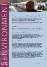 Environmental Assessment - Croxley Rail Link