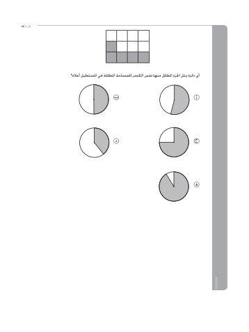 نماذج اختبارات طلبة الصف الثامن في مادة الرياضيات