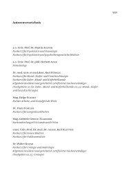 Autorenverzeichnis - Jan Sramek Verlag