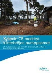 Xylem CE-merkityt pumppaamot - Water Solutions