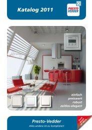Katalog 2011 - Presto-Vedder