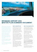Brisbane Airport 2014 Master Plan Summary Booklet (16.3MB) - Page 6
