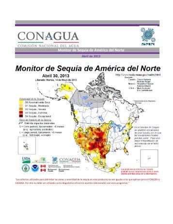 Monitor de Sequía de América del Norte - Servicio Meteorológico ...