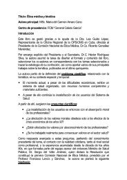 Título: Ética médica y bioética Autora principal: MSc. María del ...