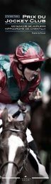 Prix du Jockey Club - France Galop
