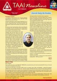 2010 January - Travel Agents Association of India (TAAI)