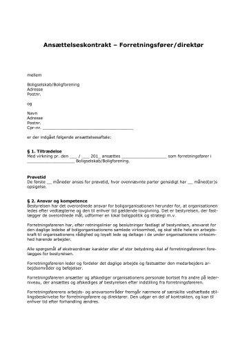 Forretningsfører - Boligselskabernes Landsforening