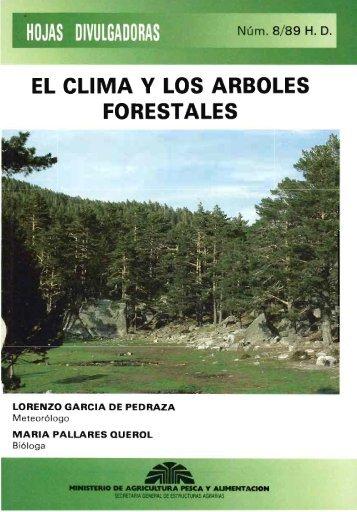EL CLIMA Y LOS ARBOLES FORESTALES - Divulgameteo