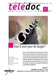 Faut-il avoir peur de Google? - CNDP
