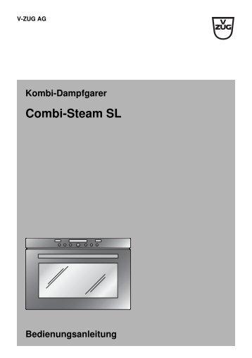 einstelltipps v zug steamer combi steam xsl elektroshop24. Black Bedroom Furniture Sets. Home Design Ideas