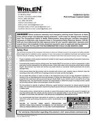 13883: PCC10 Power Control Center - Busch & Associates