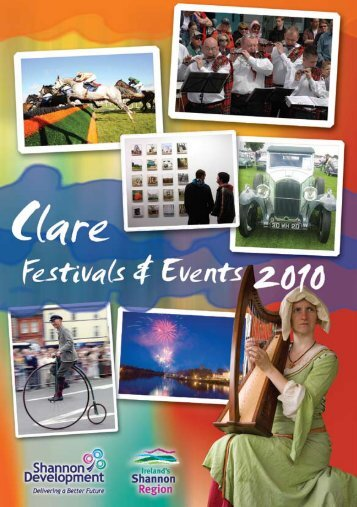 Music Events and Festivals (pdf file) - Clare County Library