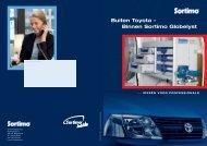Buiten Toyota – Binnen Sortimo Globelyst - Ellermeyer