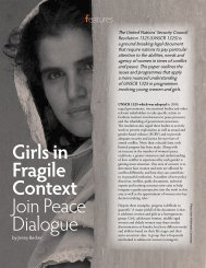 Girls in Fragile Context Join Peace Dialogue - Isis International Manila