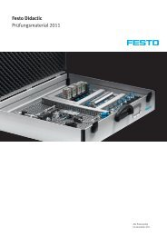 Festo Didactic Prüfungsmaterial 2011