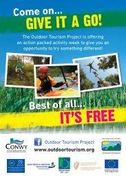 Conwy Outdoor Activity Sessions - Snowdonia-Active