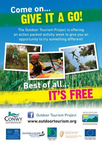 Conwy Outdoor Activity Sessions - Snowdonia-Active