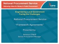 NPS Framework Agreements - National Procurement Service